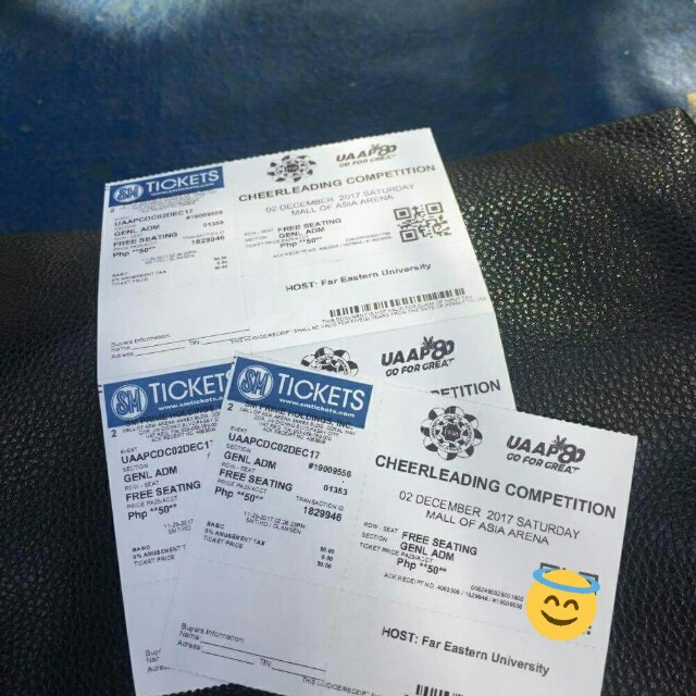 Uaap cdc ticket