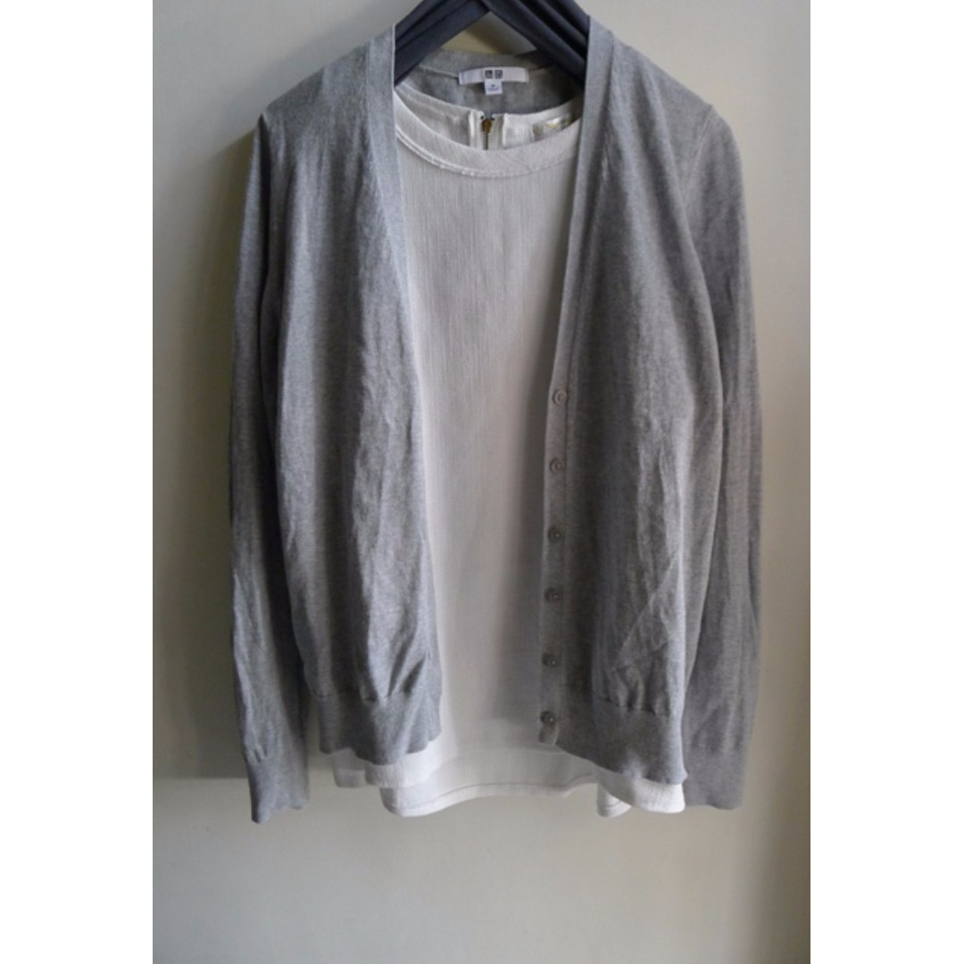 UNIQLO 針織小外套 #我有UQ要賣