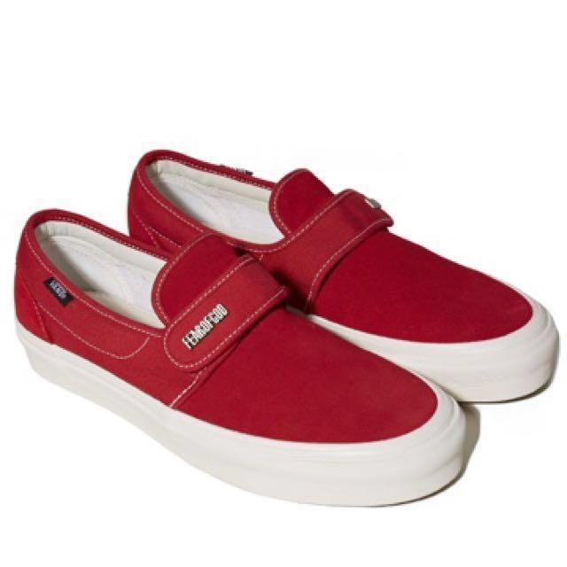 Vans x F.O.G. Slip On 47 V DX (Red