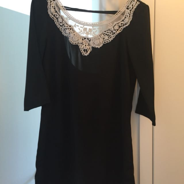 Vero Moda 3/4 Sleeve Mini Dress