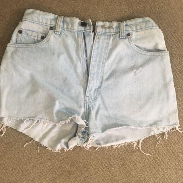 Vintage high waist Levi's Shorts