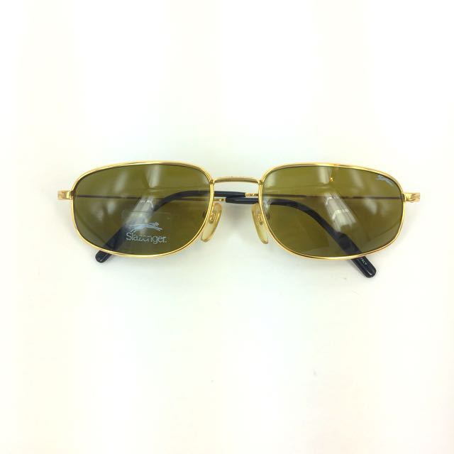 06e37d226 Vintage Slazenger Sunglass, Men's Fashion, Accessories, Eyewear & Sunglasses  on Carousell