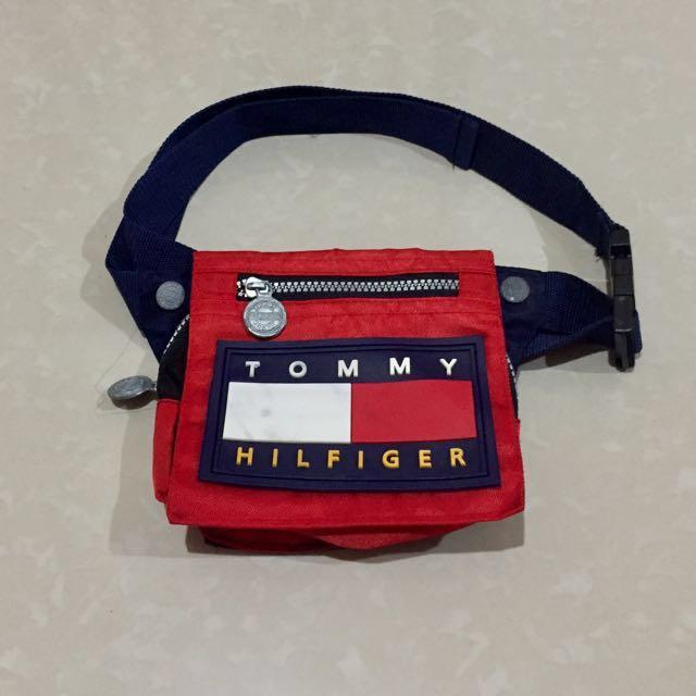 1ca6c846ec Vintage Tommy Hilfiger Belt bag/Fanny Pack on Carousell