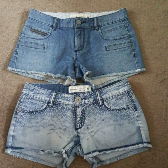 97fa5aa686 Womens Just Jeans 9 Denim shorts x2, Women's Fashion, Clothes on ...