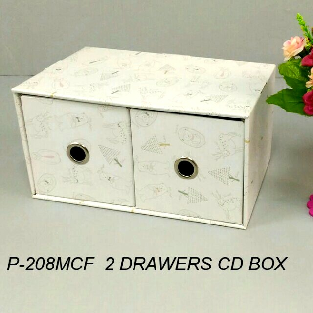 X'mad 2 DRawers CD box