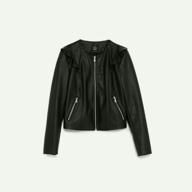 Zara Black Jacket Original [NEW]