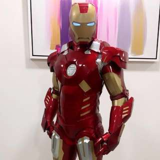 Mascot Cosplay IronMan for any party