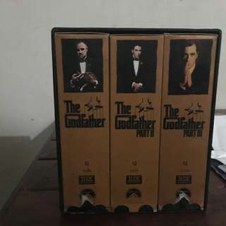 God father VHS collector series