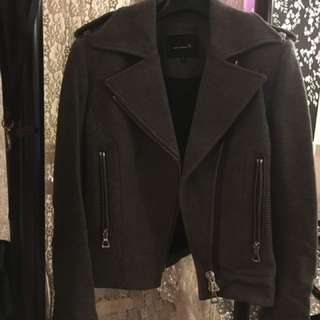 Isabel Marant Wool Biker Jacket