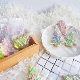 10% off Christmas handmade fondant  cookies