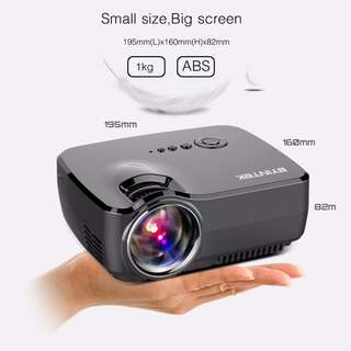 HD Projector GP70 Portable LED Projector USB HDMI LCD Cinema Mini Video Digital Home Theater