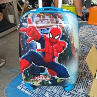 蜘蛛人卡通兒童拉桿行李箱
