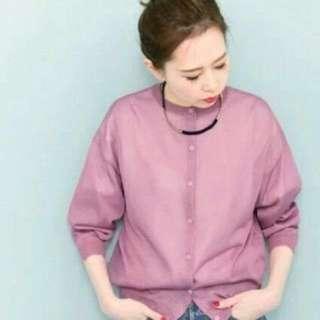日本品牌🍡KBF糖果色針織外套