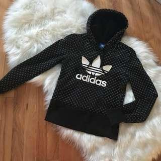 Adidas trefoil hoodie sweater