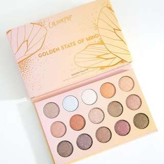 (INSTOCK) Golden State of Mind Palette ColourPop