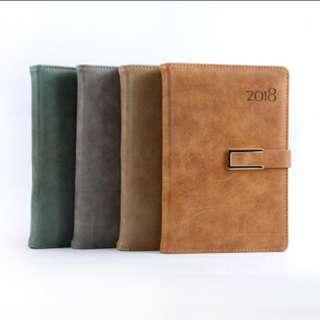 (PO) 2018 planner/notebook