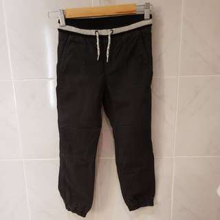 H&M Black Jogger Pants 6-7Y