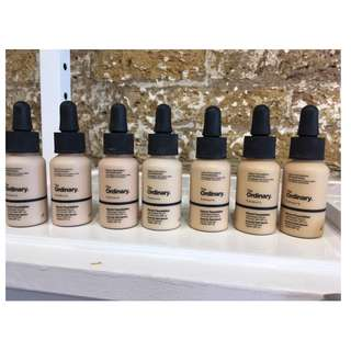 THE ORDINARY COVERAGE FOUNDATION BRAND NEW & AUTHENTIC PICK SHADE (NO OFFERS) WHILE STOCKS LAST