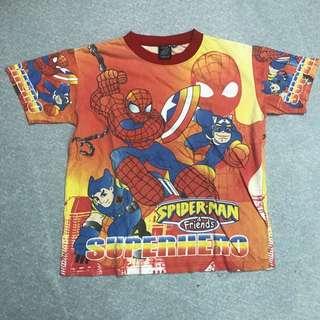 Kid's Spiderman Teeshirt