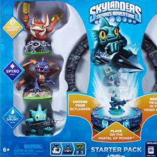 MISB Skylanders Spyro's Rdventure Starter Pack