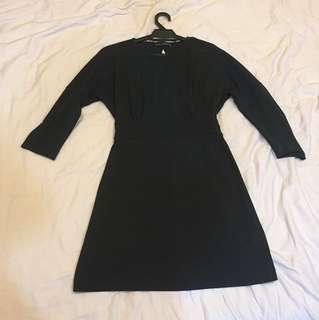 Zara sexy back dress size S