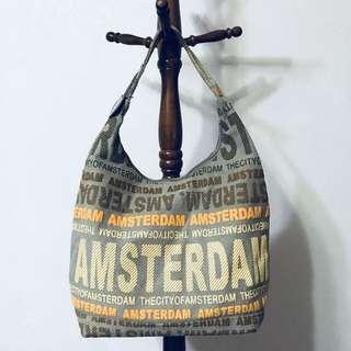 阿姆斯特丹購入🇳🇱 大容量側背包