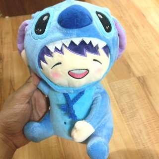 Infinite Woohyun Stitch Doll