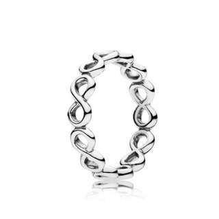 PANDORA: Infinite Shine Ring... Size: 5