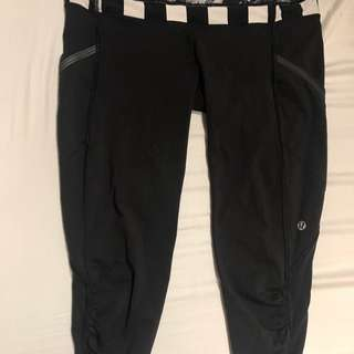 Lululemon speed up crop size 6
