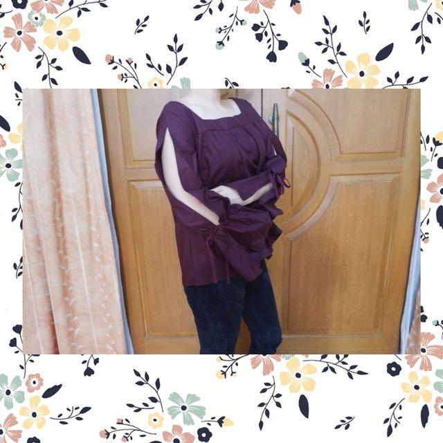 022 Baju lengan panjang