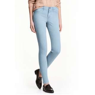 H&M Skinny Regular Waist Ankle Jeans - Size 27