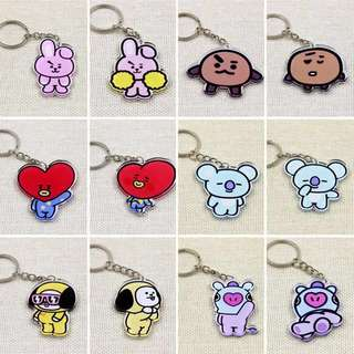 BTS Acrylic Keychains !!!