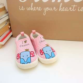 GIRL SHOE KID CANVAS BRAND NEW