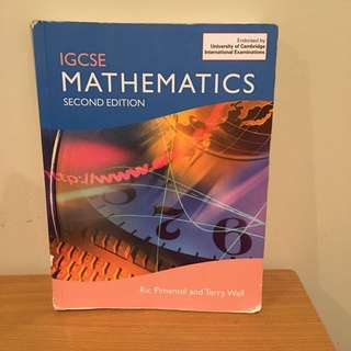 IGCSE Mathematics 2nd Edition