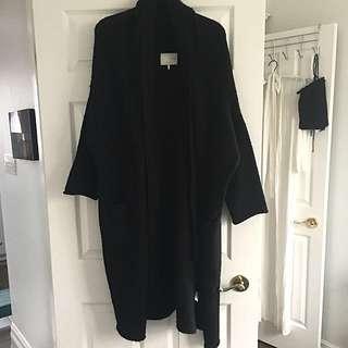 Oak + Fort cardigan/coat