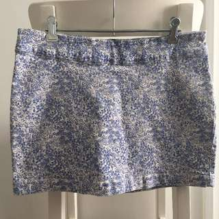 Vanishing Elephant Denim Skirt