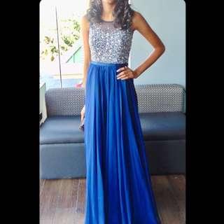 Gorgeous Blue Prom Dress