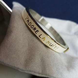 🚚 全新Agnes b白色氣質手環(正品)降價!