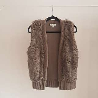 Miss shop fur vest