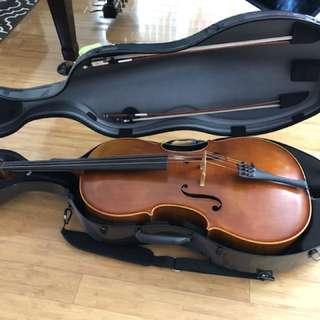 Brand new Cello