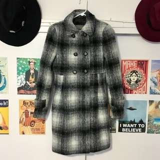 Zara woman wool coat