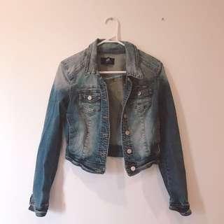 dotti denim jacket(size 6)