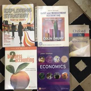 Accounting and Economic books