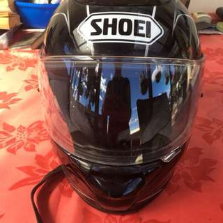 Shoei TZX motorcycle helmet