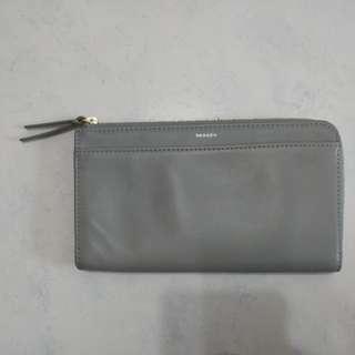 Skagen light ash phone wallet BNIP