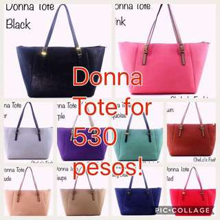 Donna Tote Bags