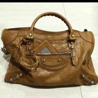 Balenciaga City Bag in Cumin Medium - Authentic & Brand New