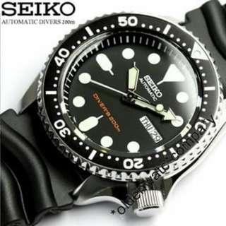 100%全新 SKX007K SKX009K SEIKO 自動錶