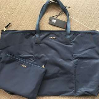 TUMI JUST IN CASE PACKABLE TOTE BAG