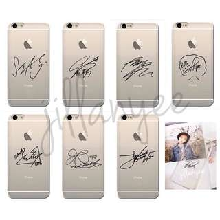 [PO] BTS Signature Phone Cases